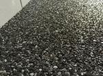 Dortmund: Steinteppich Badezimmer Marmorsplitt Grigio Carnico