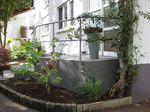 Dortmund: Hauseingangstreppe mit Granitsplitt gespachtelt