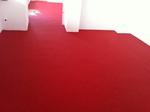 Olpe: Büroflächen mit Colorquarz (3020 verkehrsrot) beschichtet