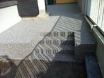 Remscheid: Terrasse abgedichtet und mit Colorquarz M1001 gespachtelt