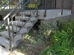 Bochum Langendreer: Terrassentreppe mit Colrquarz 160 naturgrau