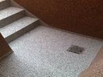 Dortmund Deusen: Kellertreppe in Colorquarz M1006